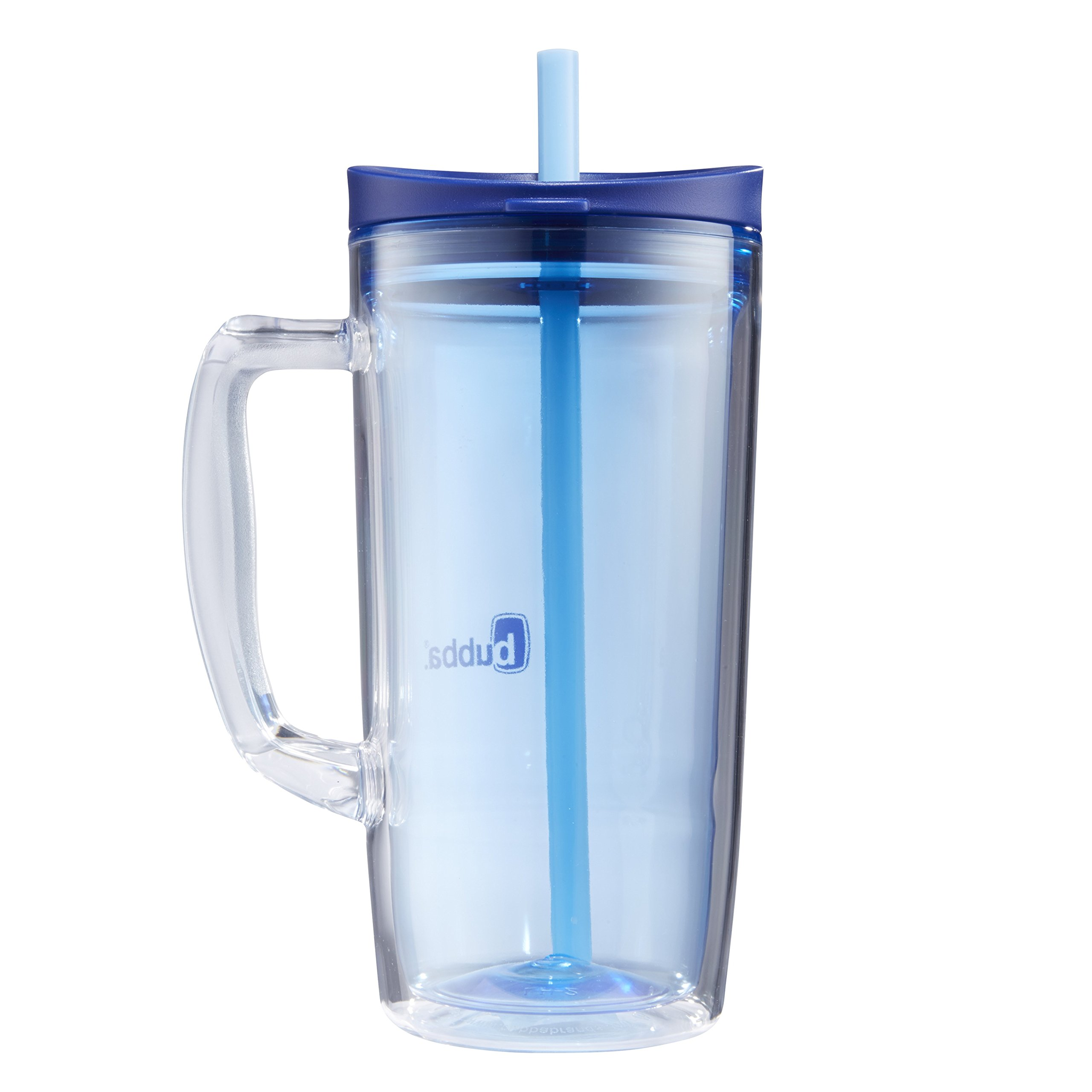 Bubba Envy Double Wall Insulated Straw Tumbler with Handle, 32 oz, Blue by BUBBA BRANDS (Image #7)