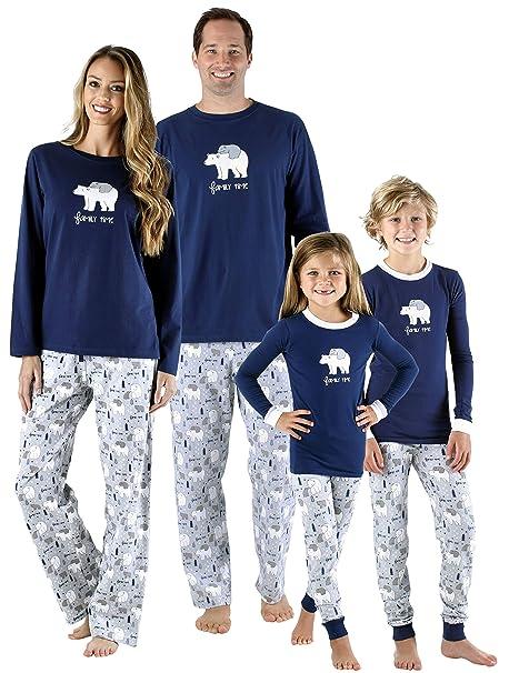 Family Christmas Pajamas Blue.Family Christmas Pajamas Blue