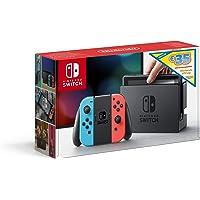 Console Nintendo SwitchTM avec une Joy-ConTM bleu néon et une Joy-ConTM rouge néon Edition Limitée + code de téléchargement 35€ Nintendo eShop