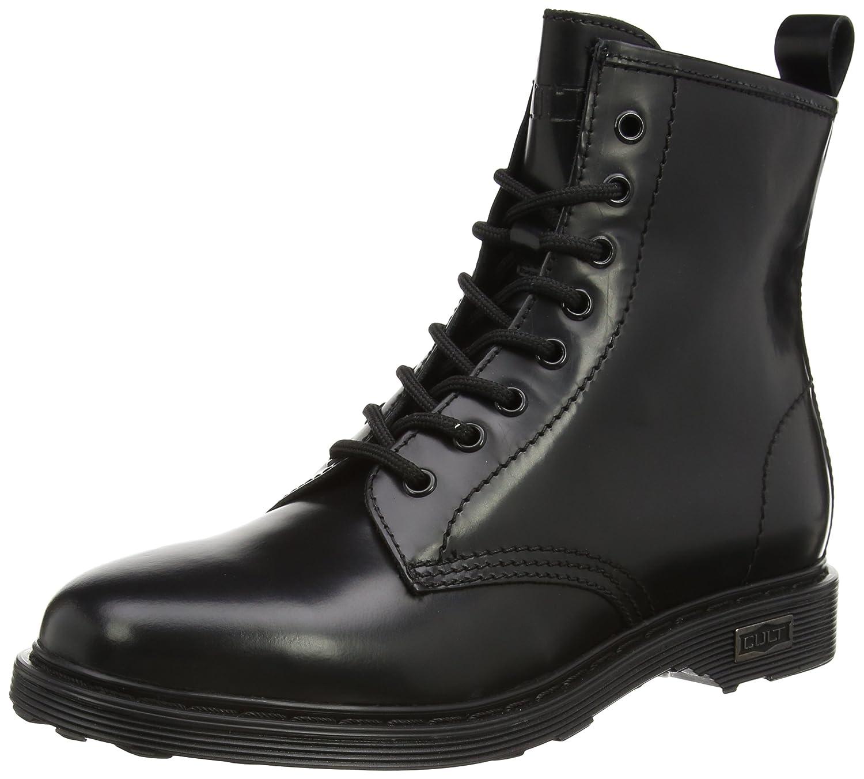 Cult Sabbath Mid 420 - Botas Militares Mujer37 EU|Negro (Black 999)