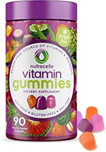 NUTRACELLE Vitamin & Mineral Gummies | Sugar-Free | Gluten-Free | Nut-Free | Soy-Free | Dairy-Free | Allergy Safe | Adults Daily | 90 Count