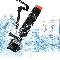 Micros2u POV de plongée Bouée flottante/Perche flottabilité Bobber Poignée réglable à la main Grip pour GoPro Hero 2, 3/3+, 4, SJCAM