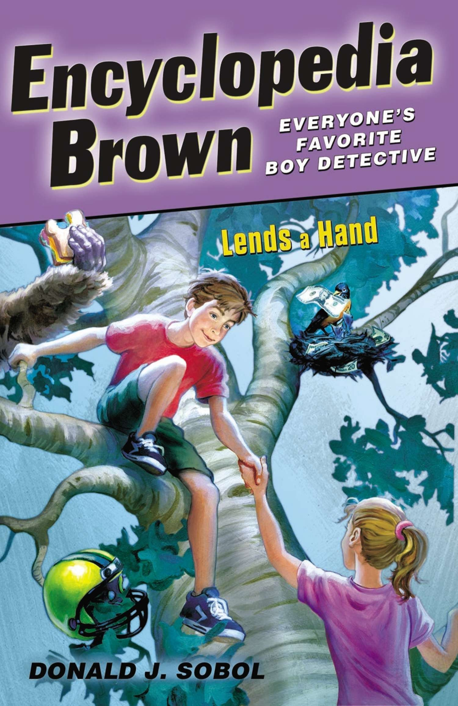 Read Online Encyclopedia Brown Lends a Hand pdf