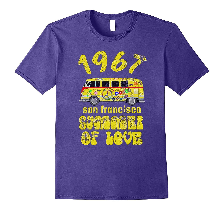 1967 San Francisco Summer of Love Vintage Van T-Shirt Retro-TH