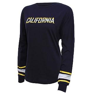 NCAA California Golden Bears Women's Campus Specialties Long Sleeve Fan Tee, X-Large, Navy