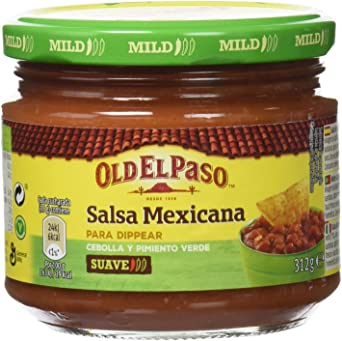 Oferta amazon: Old El Paso - Frasco Salsa Mejicana 312 g