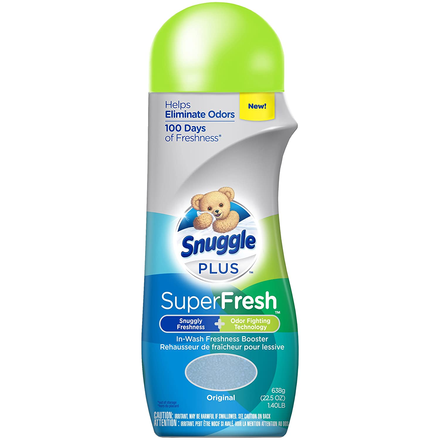 Snuggle Plus Superfresh in-wash Freshness Booster, Original, 14 Ounce Sun Products Corporation 00072613466771