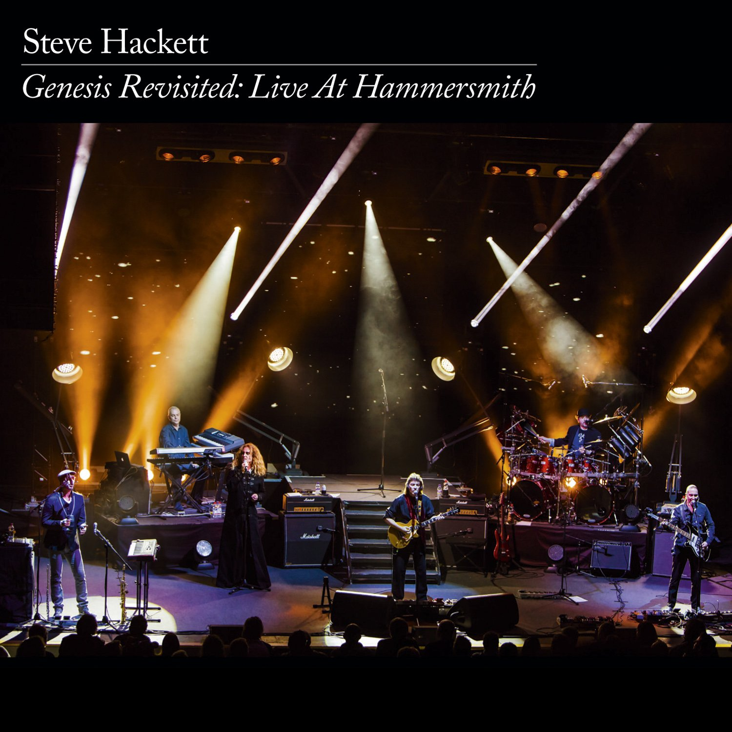 CD : Steve Hackett - Genesis Revisited: Live at Hammersmith (With DVD, Boxed Set, Digipack Packaging, 5 Disc)