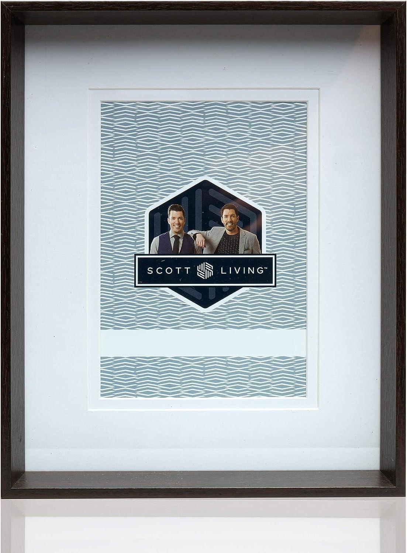 Amazon Com Scott Living Mdf Picture Frame 5x7 Inch Dark Brown