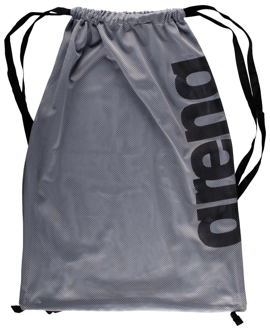 arena Unisex 2-in-1 Netztasche Rucksack Mesh Bag Schnelltrocknend, Kordelverschluss
