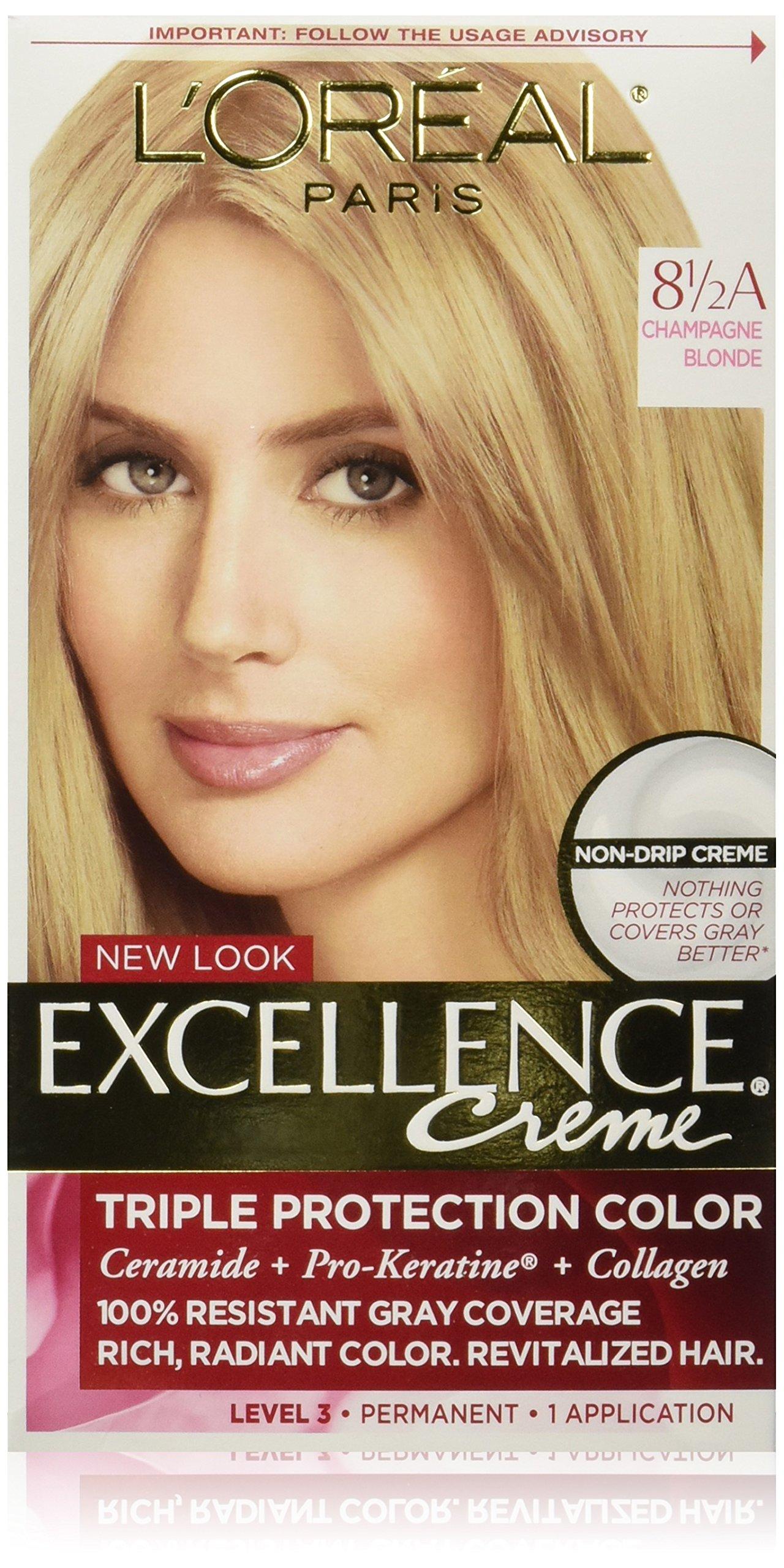 Amazon Com L Or 233 Al Paris Excellence Cr 233 Me Permanent Hair