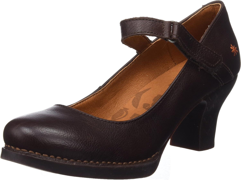 TALLA 38 EU. Art 0933 Memphis Brown/Harlem, Zapatos de tacón con Punta Cerrada para Mujer