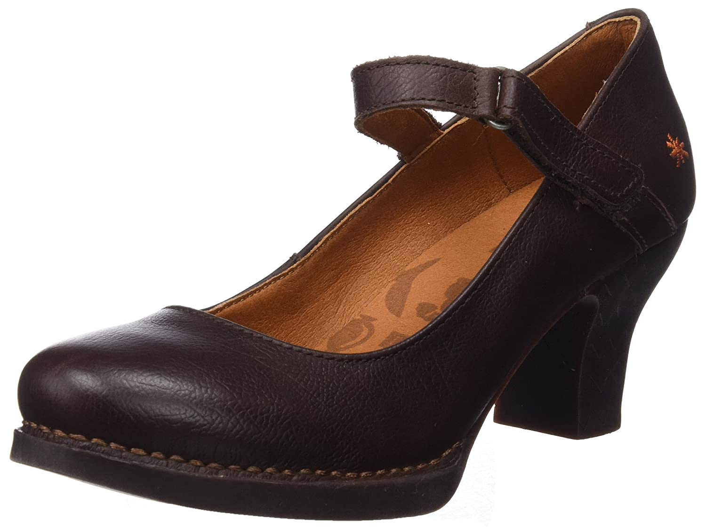 Art Memphis, Zapatos de Tacón con Punta Cerrada para Mujer 40 EU|Marrón (Brown Brown)
