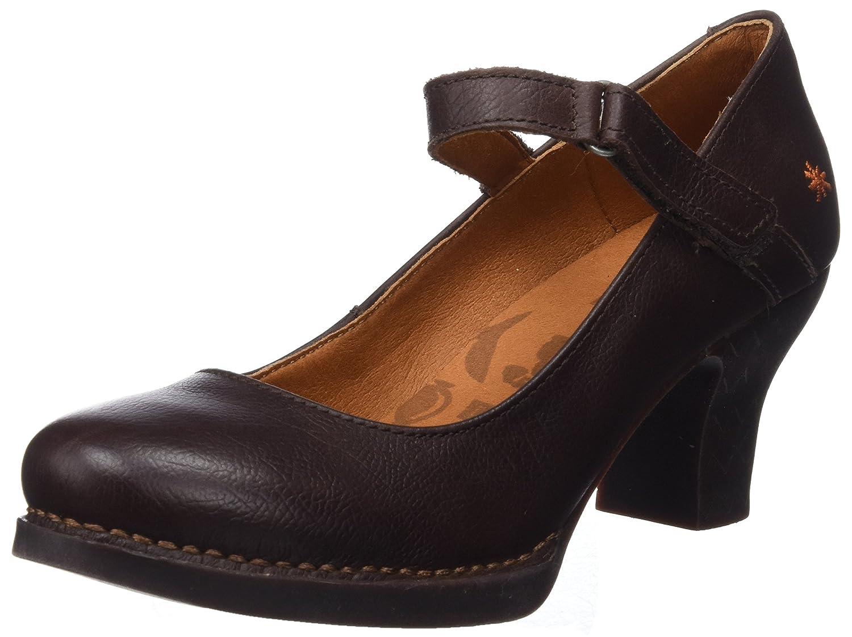 Art 0933 Memphis Brown/Harlem, Zapatos de tacón con Punta Cerrada para Mujer