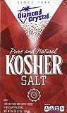 Diamond Crystal Pure and Natural Kosher Salt, 48oz - PACK OF 9