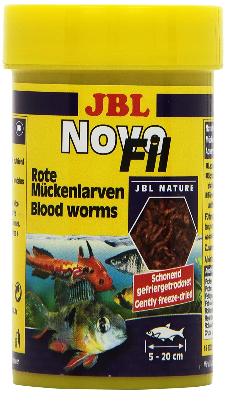 Suplemento alimenticio JBL para Peces acuáticos, Larvas Rojas, NovoFil: Amazon.es: Productos para mascotas