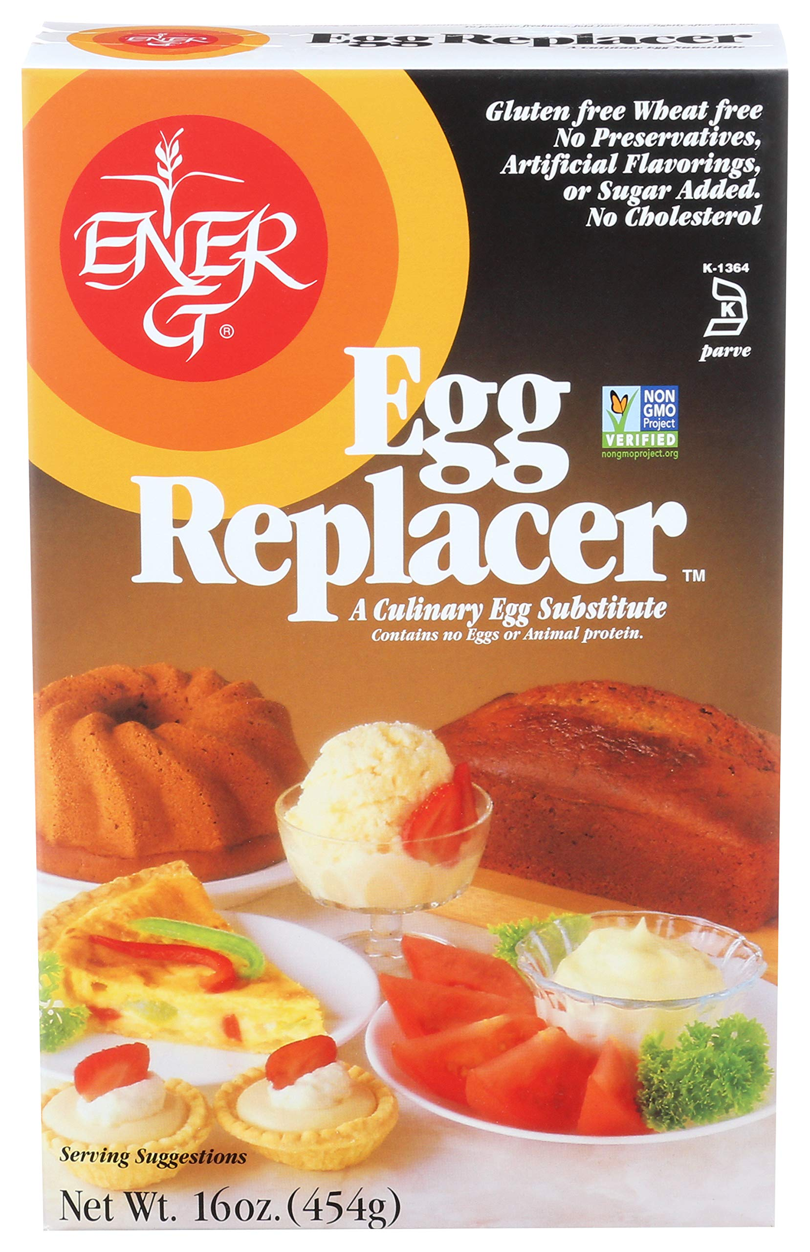 Ener-G Foods Egg Replacer, 16 oz, Packaging May Vary