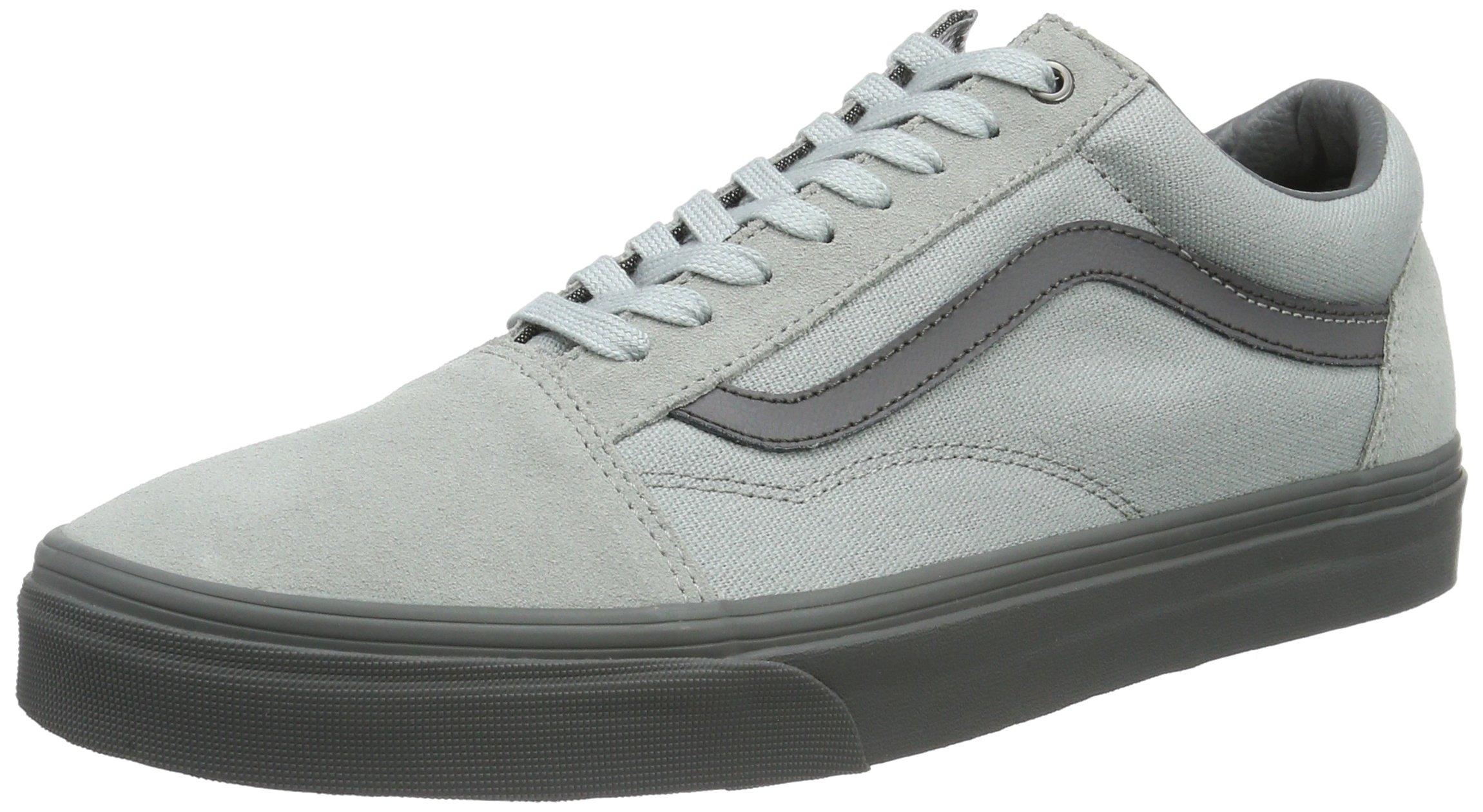 a137b84e7a5fa1 Galleon - Vans Unisex Old Skool (C D) High-Rise Pewter Skate Shoe 9.5 Men US  11 Women US