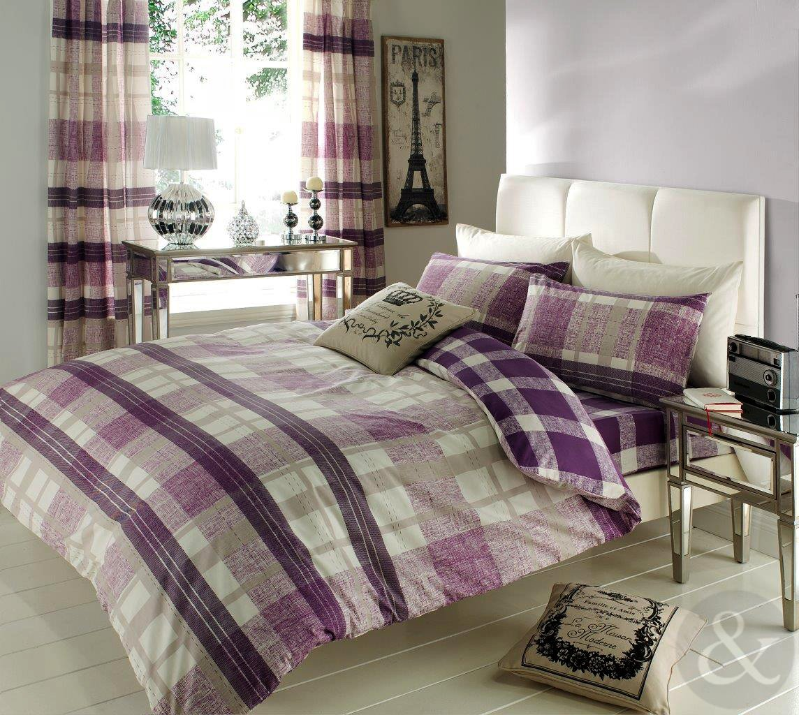 Purple Duvet Cover Sets King - Sweetgalas
