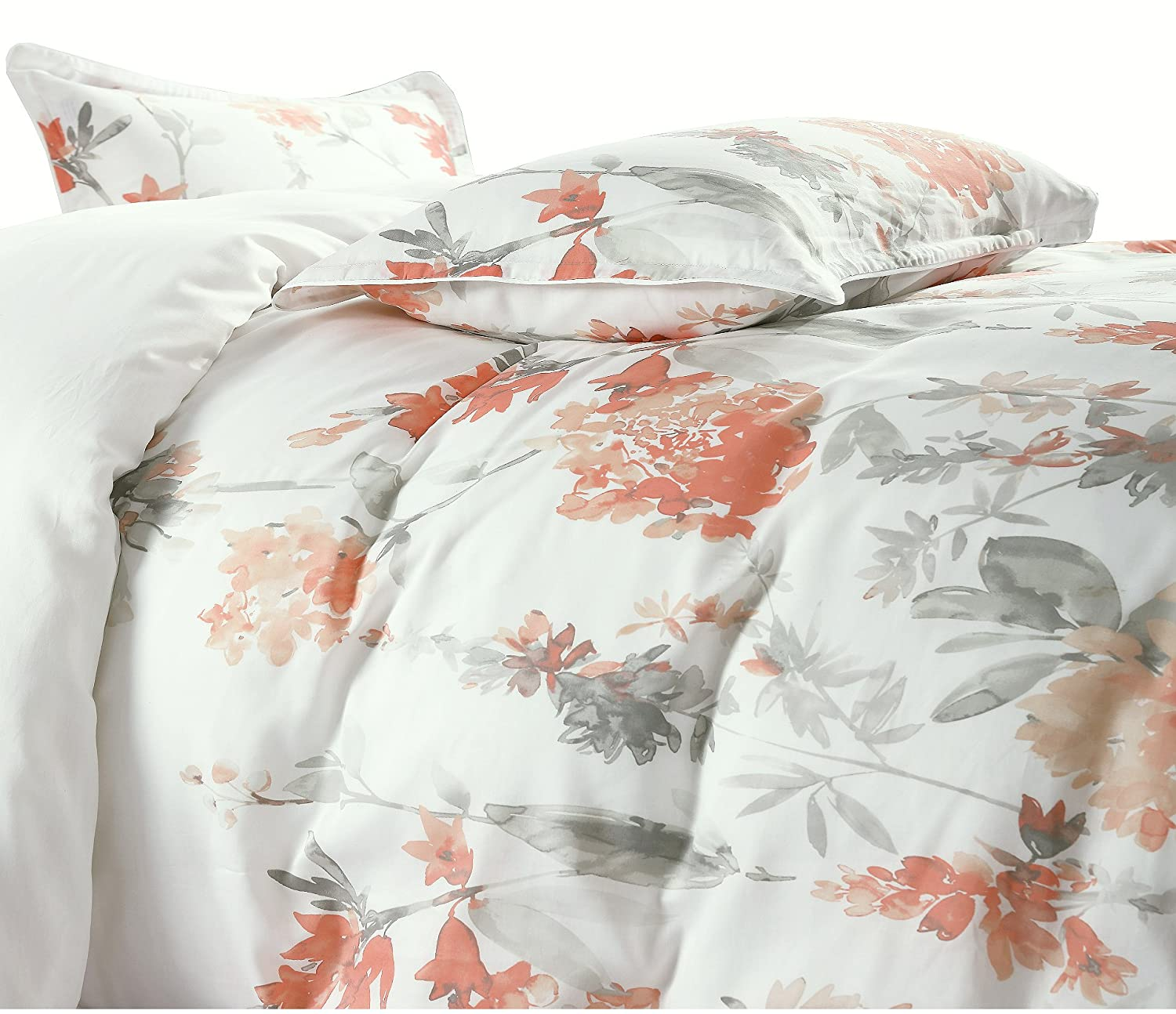 Perfect Design Of Peach And Grey Bedding Best Home