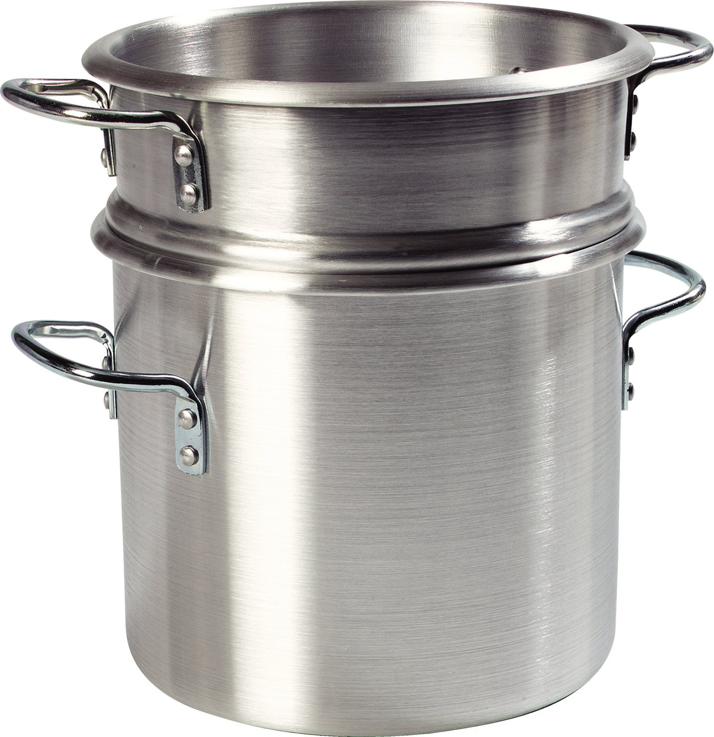 Carlisle 60934 Professional Aluminum Double Boiler with Insert, 20 Quart by Carlisle