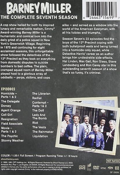 Barney Miller: Season Seven 3 Dvd Edizione: Stati Uniti Italia ...