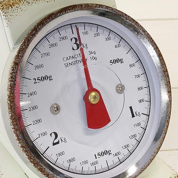 MACOSA SA7972 - Báscula de cocina con cuenco para pesar, hasta 3 ...