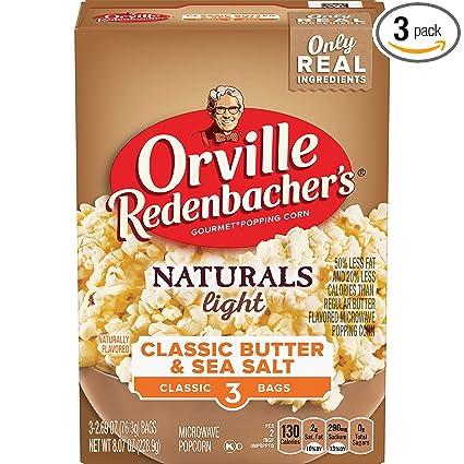 orvile Redenbacher Naturals Luz Classic de la mantequilla ...