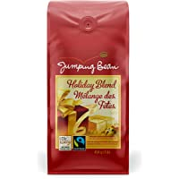 Jumping Bean Holiday Flavored Whole Bean Coffee, Holiday Blend, 454g