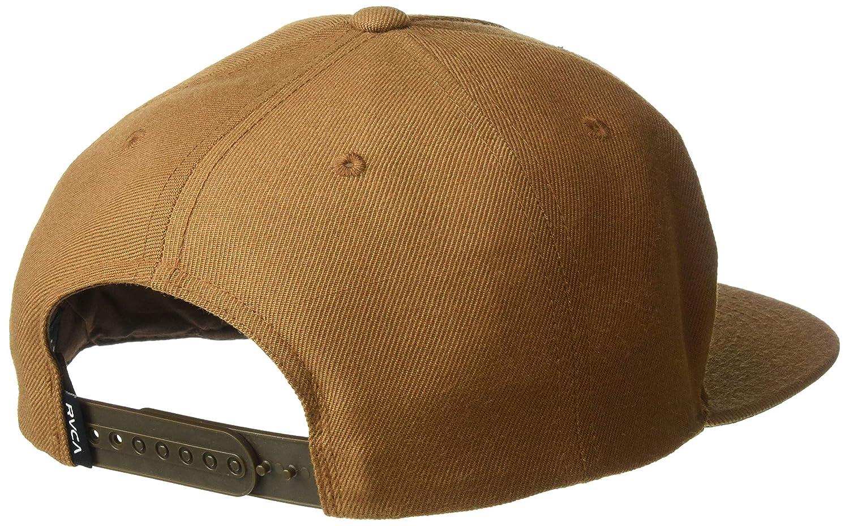 RVCA Mens Script Snapback Hat