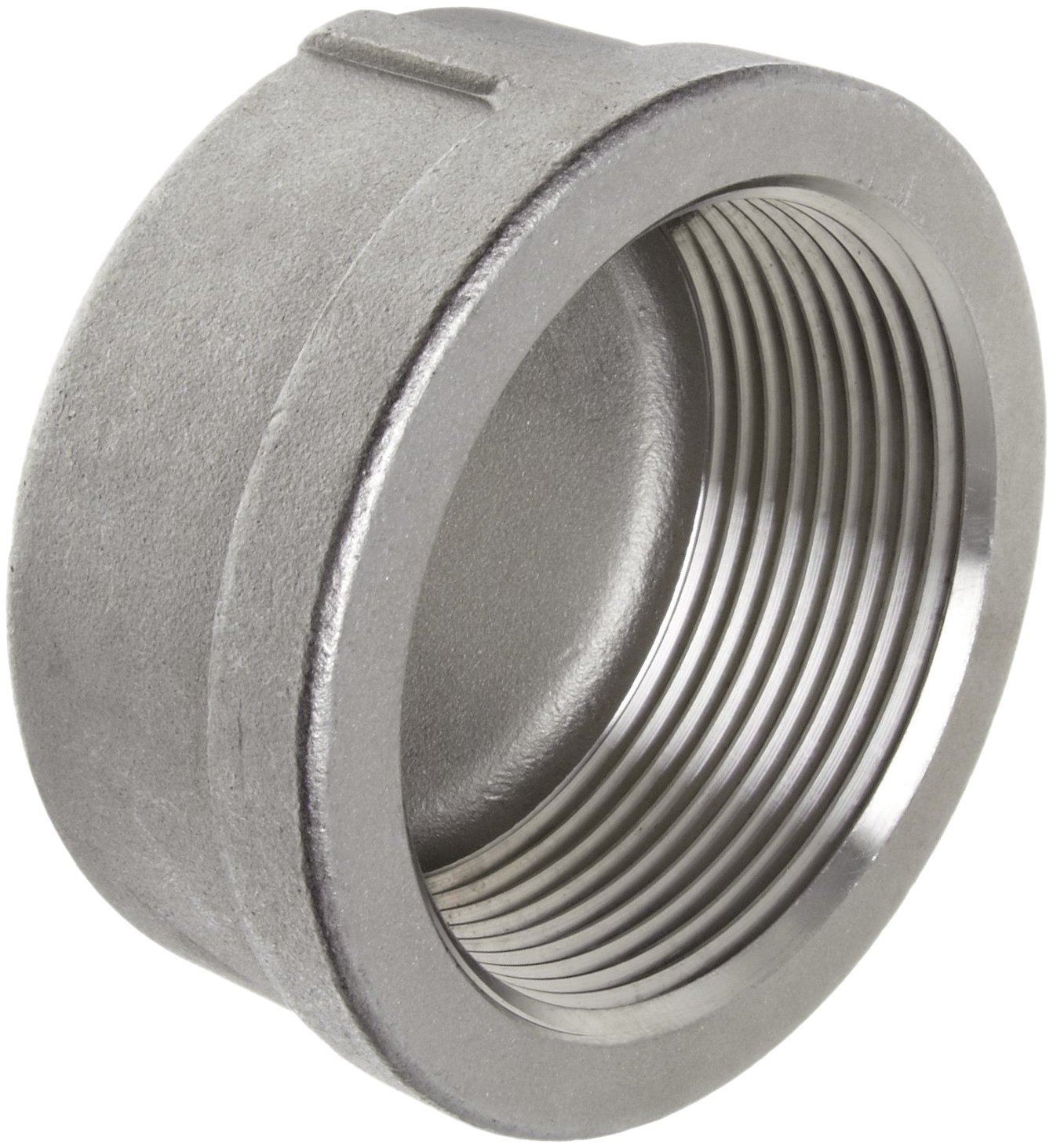 Stainless steel cast pipe fitting cap class