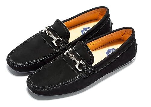 e46af34e281fc OPP - Zapatillas de piel para hombre  Amazon.com.mx  Ropa