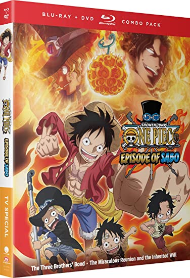 One Piece - Episode Of Sabo: Three Brothers Bond 2 Blu-Ray ...