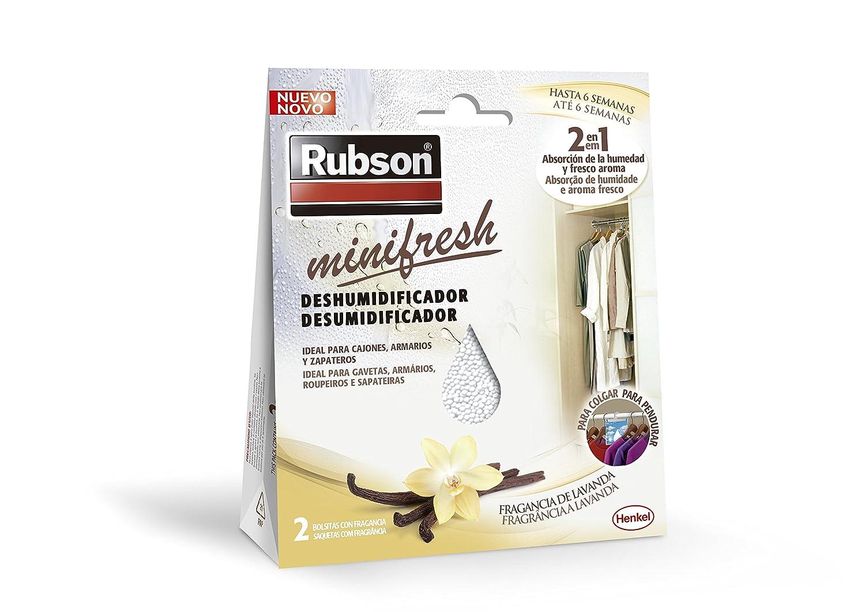 Rubson Minifresh Deshumificador para Armarios Fragancia A Fruta Blanco