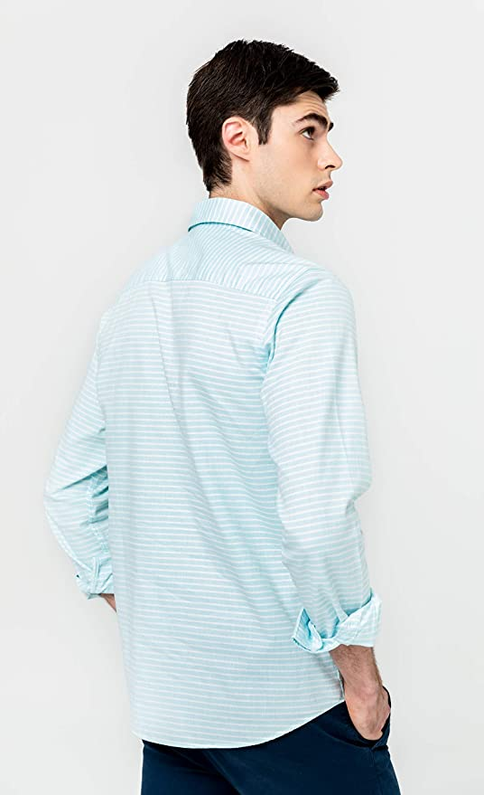 Camisa Polera de Algod/ón para Hombre Scotta 1985