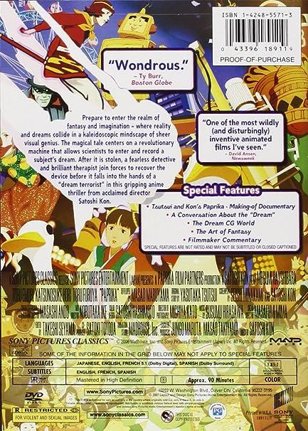 Amazon.com  Paprika  Satoshi Kon  Movies   TV fb94e61ba7c6