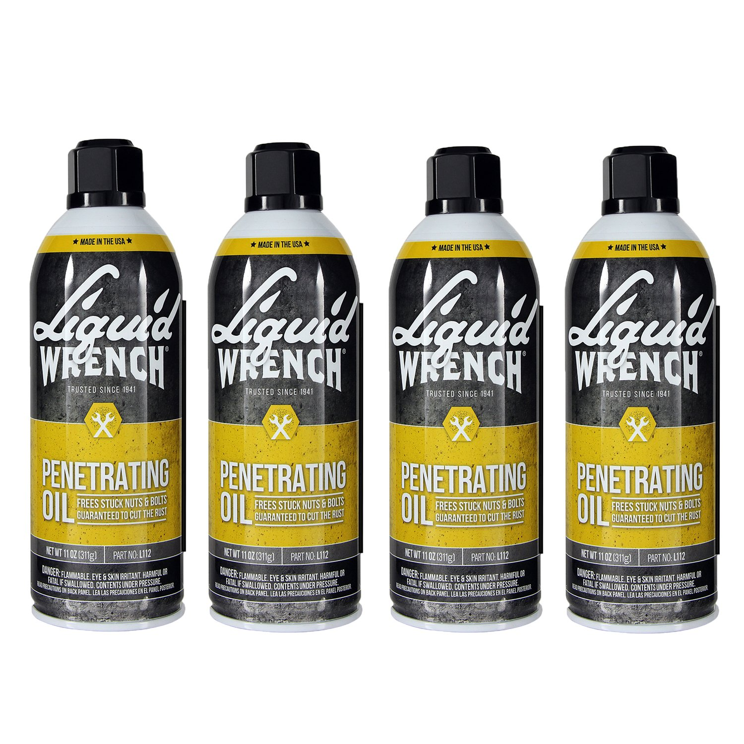 Liquid Wrench L112-4PK Penetrating Oil Spray}