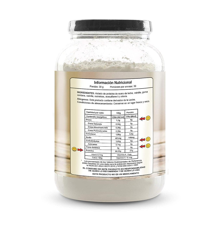 Amazon.com: Ni Una Dieta Más (vanilla) whey protein isolate: Health & Personal Care