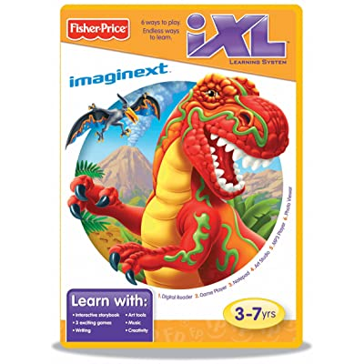 Fisher-Price iXL Learning System Software Imaginext Dinosaurs: Toys & Games