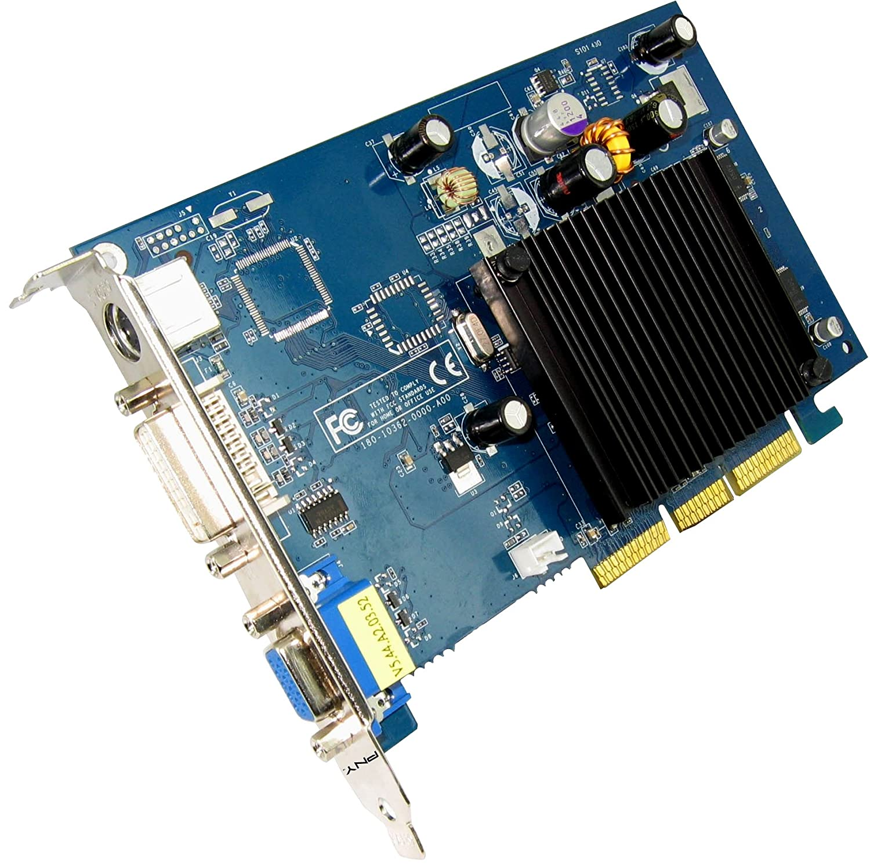 PNY GeForce 6200 - Tarjeta gráfica NVIDIA (AGP, memoria de ...