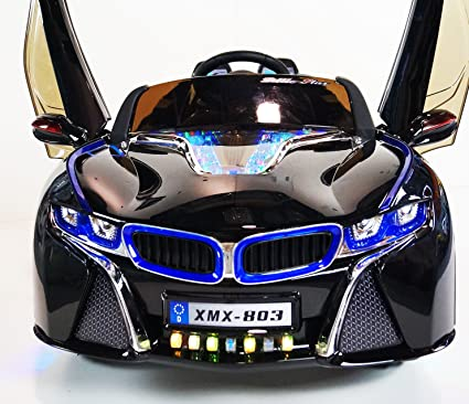 New Ugrated Model BMW I8 Sport Edition Vision Style 12v Kids Ride On Car  With LED