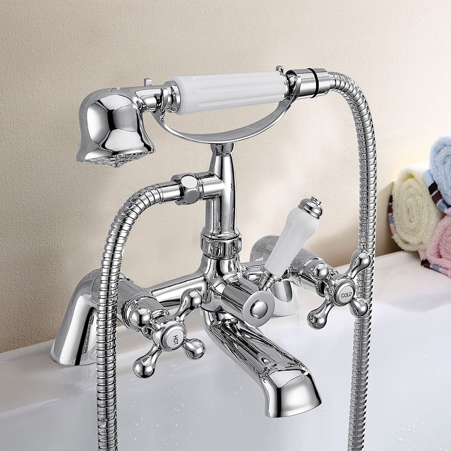 stafford traditional classic bathroom bath shower mixer victorian stafford traditional classic bathroom bath shower mixer victorian victoria amazon co uk kitchen home
