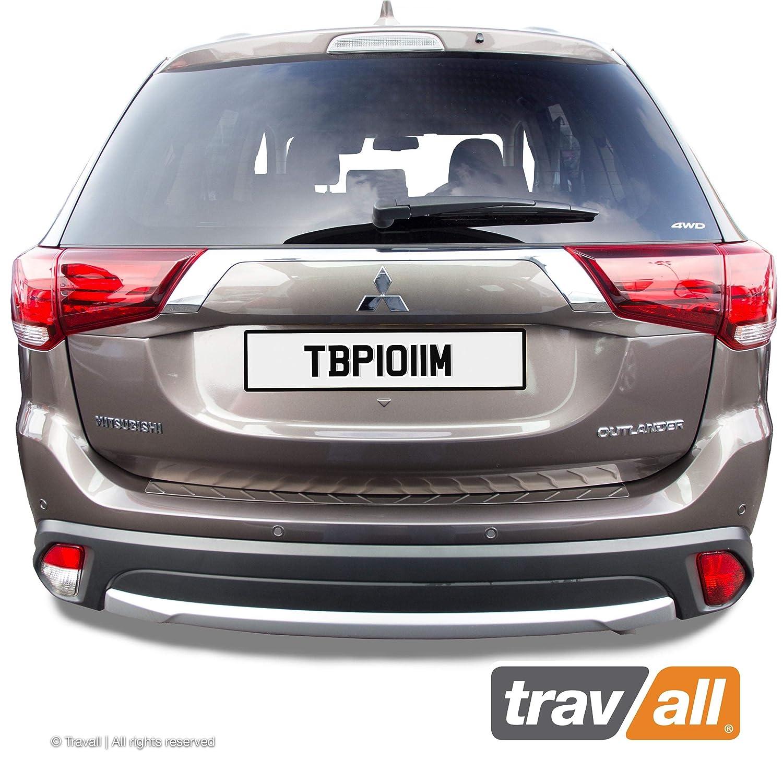 Travall/® Protector TBP1011M ma/ßgeschneiderter Ladekantenschutz aus hochwertigem Edelstahl