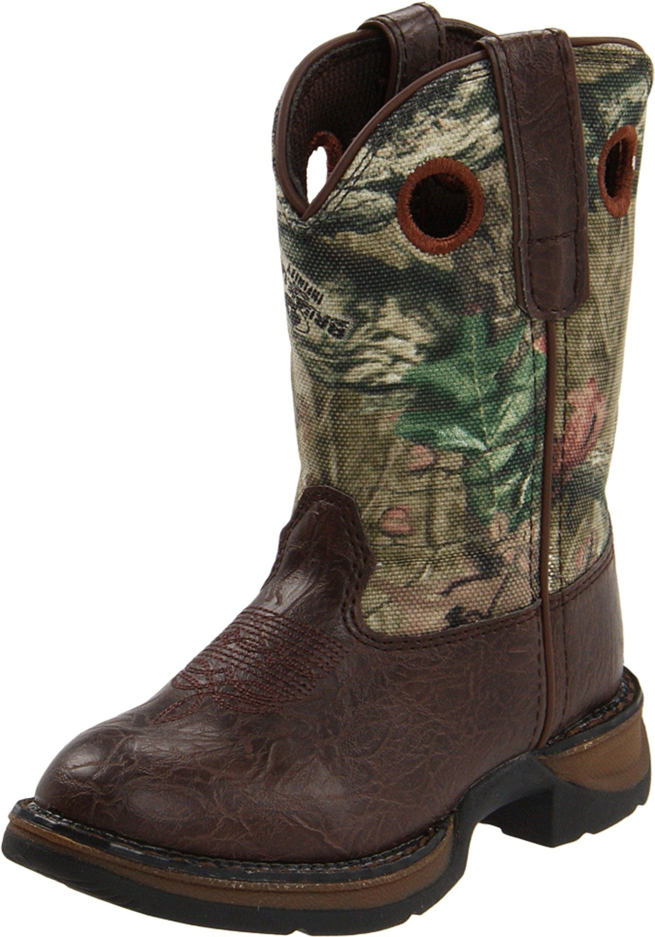 Durango Kids BT250 Lil' 8 Inch Camo,Brown/Mobu Infinity,10 M US Toddler