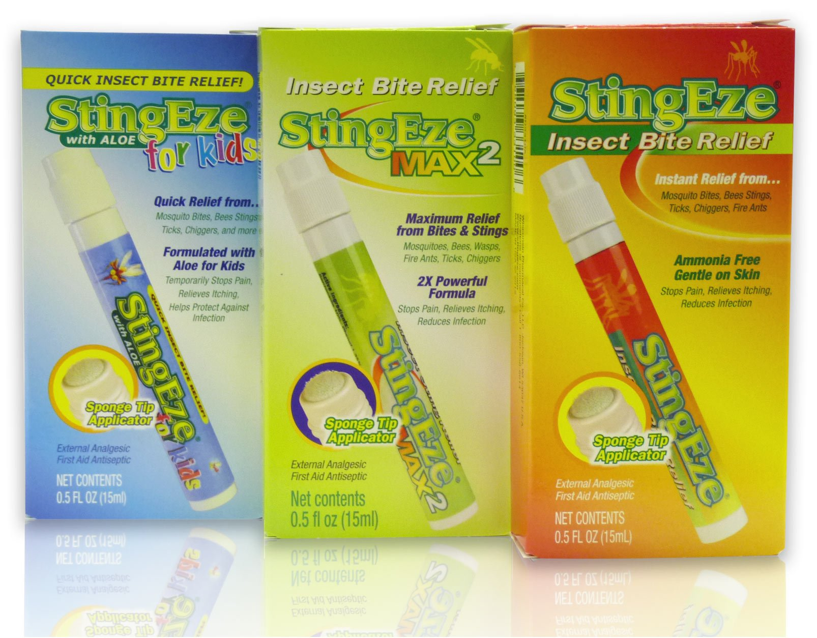 StingEze Original Insect Bite Itch Relief Dauber, 0.5 Ounce by StingEze (Image #3)