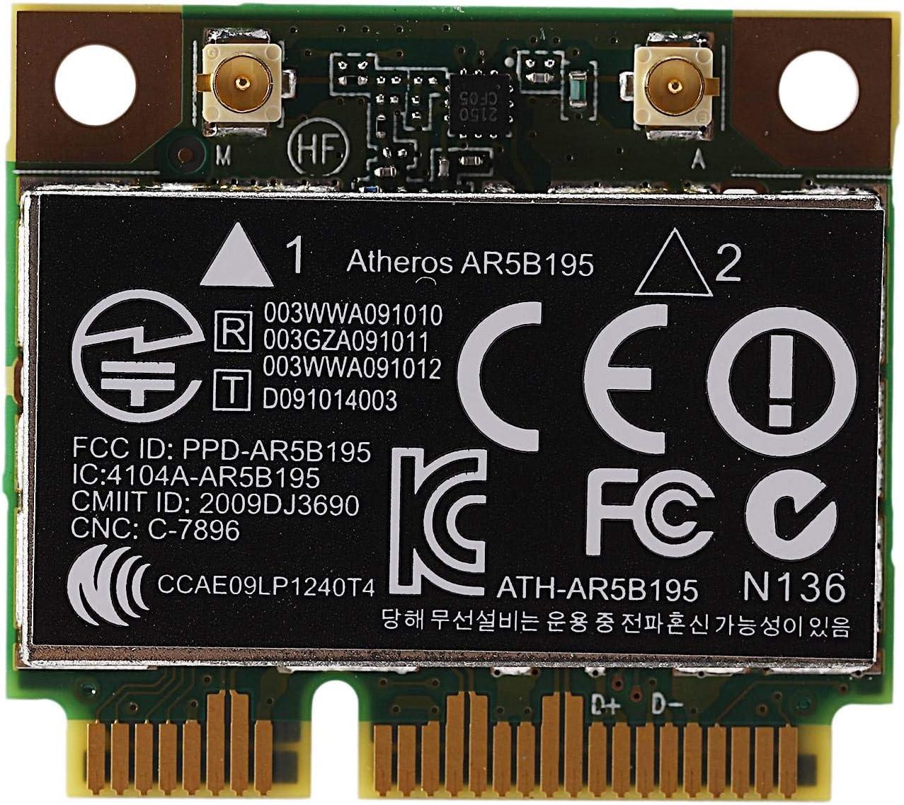 CUHAWUDBA AR9285 AR5B195 150M + BT3.0 Media Tarjeta InaláMbrica PCI-E SPS: 593127-001 592775-001 para 430 431 435 436 4530S