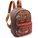 Harry Potter Railway Sac à dos loisir, 32 cm, 13 liters, Marron (Marrón)