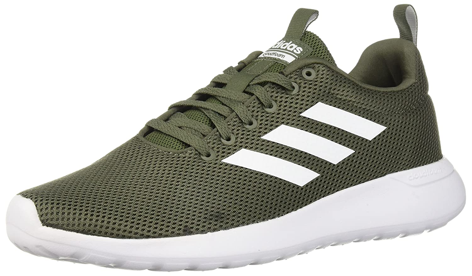 Base Green White Black Adidas Mens Lite Racer Clean Running shoes