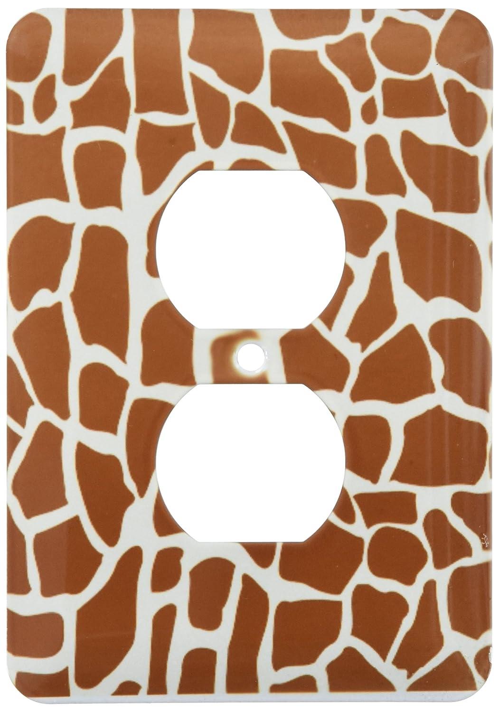 最安値級価格 3drose 155617 LSP_ B00E44H970 155617_ 6 6 Giraffe Skinグラフィック動物印刷パターンブラウンとイエローAfrican Safariモダンスタイリッシュなライトスイッチカバー B00E44H970, ももの和:c2963302 --- svecha37.ru