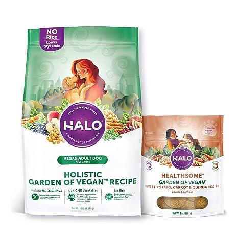 Amazoncom Halo Vegan Dry Dog Food Garden Of Vegan Recipe